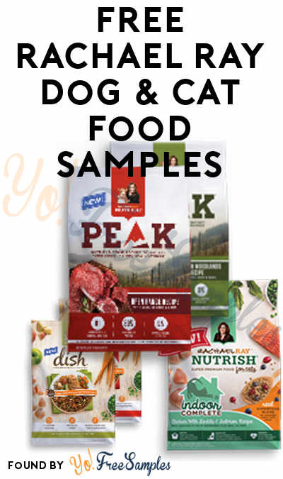 In Stock Again: FREE Rachael Ray Dry Dog & Cat Food Samples [Verified Received By Mail]