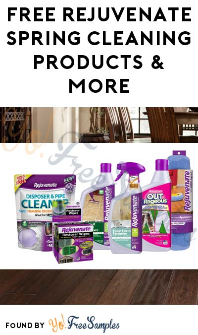 FREE Rejuvenate Spring Cleaning Products & More (Must Apply To Host Tryazon Party)