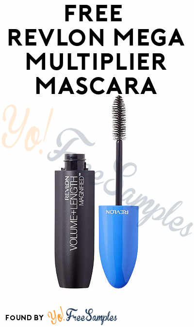 ENDS SOON: FREE Revlon Mega Multiplier Mascara From CrowdTap (Mission Required)