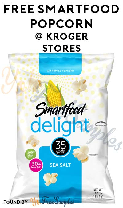 TODAY ONLY: FREE Smartfood Popcorn At Kroger, Fry's, Ralphs, Dillons & Others