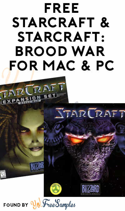 FREE StarCraft & StarCraft: Brood War Download For Mac & PC