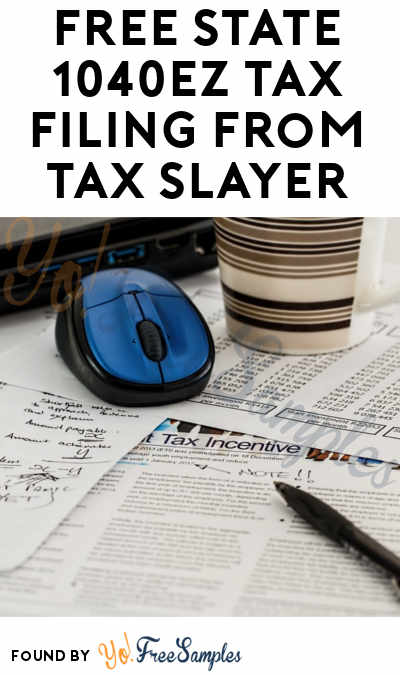 FREE State 1040EZ Tax Filing From Tax Slayer