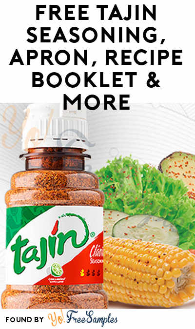 FREE TAJIN Seasoning, Apron, Recipe Booklet & More (AZ, CA & TX Only, Apply To HouseParty.com)