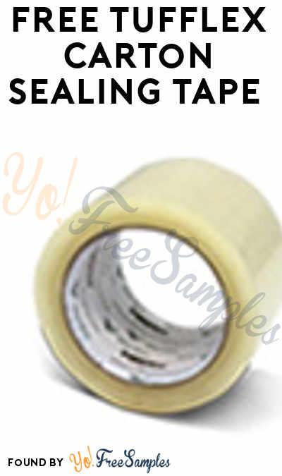 FREE TUFflex Carton Sealing Tape (Company Name Required)