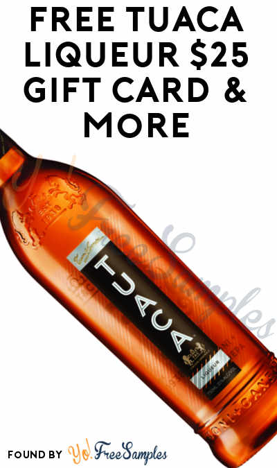 FREE Tuaca Liqueur $25 Gift Card & More (21+ Only, Select States, Apply To HouseParty.com)