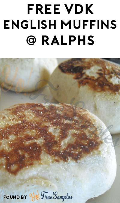 FREE VDK English Muffins At Ralphs (Select Accounts)