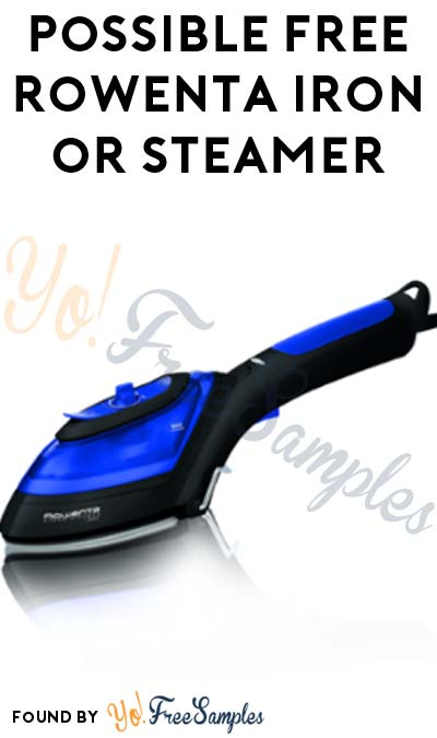Possible FREE Rowenta Iron or Steamer From ViewPoints/PowerReviews.com (Survey Required)