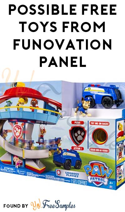 Possible FREE Toys From Funovation Panel (Survey Required)