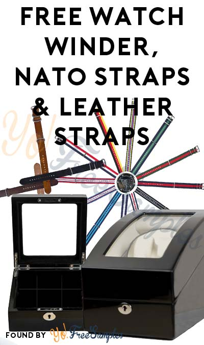 FREE Watch Winder, Nato Straps & Leather Straps For Referring Friends
