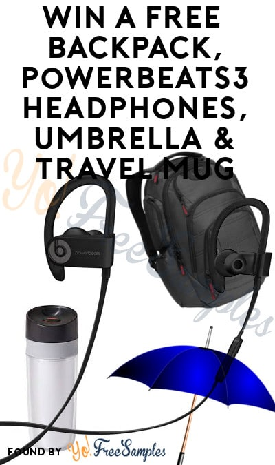 Win A FREE Ogio Backpack, Powerbeats3 Headphones, Umbrella & Travel Mug From ION Television