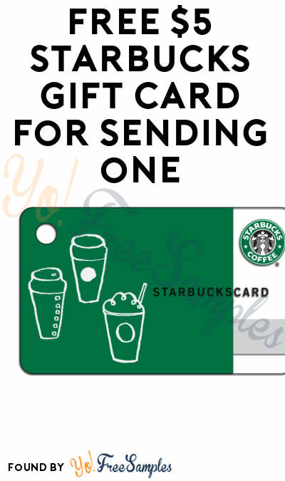 FREE $5 Starbucks Gift Card For Sending $5 via iMessage (iOS Only)