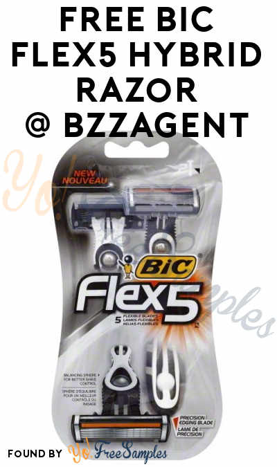 Possible FREE BIC Flex5 Hybrid Razor From BzzAgent