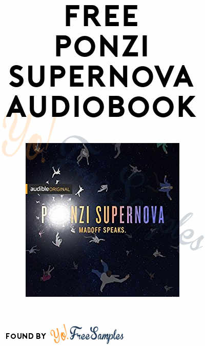 FREE Ponzi Supernova Audiobook On Amazon