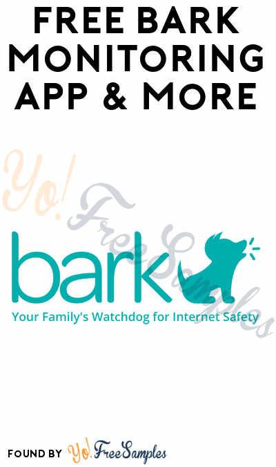 FREE Bark Parental Control App & More (Apply To HouseParty.com)