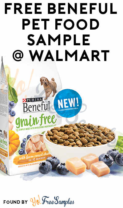 FREE Beneful Dog Pet Food Sample From Walmart