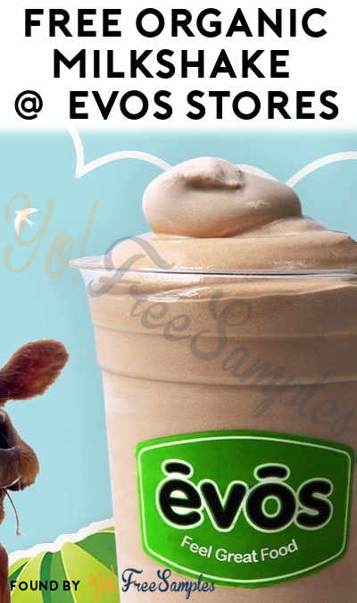 FREE Organic Milkshake At EVOS On Earth Day (FL Only)