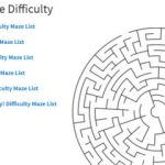Thousands of Free Printable Maze Puzzles