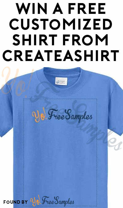 Win A FREE Customized T-Shirt From CreateAShirt.com Every Friday
