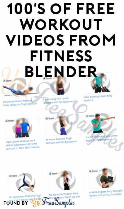 100's of FREE Workout Videos From Fitness Blender