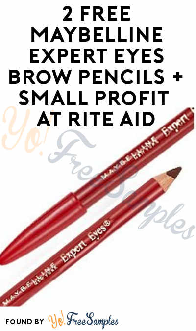 2 FREE Maybelline Expert Eyes Brow Pencils + Small Profit At Rite Aid (Coupon Required)