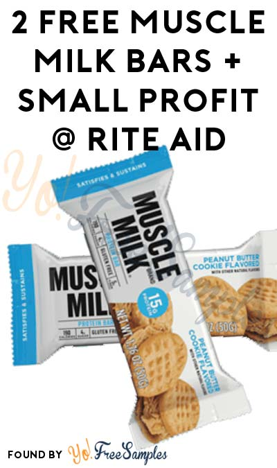 2 FREE Muscle Milk Bars + Small Profit At Rite Aid (Coupon & Ibotta Required)