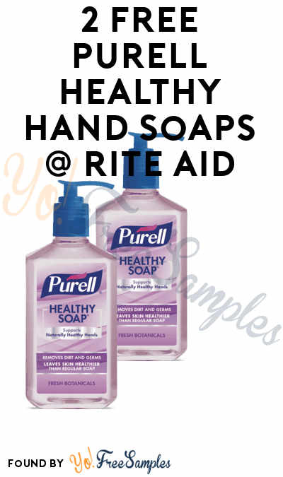 2 FREE Purell Healthy Hand Soaps + Small Profit At Rite Aid (Coupon, Ibotta & Checkout51 Required)
