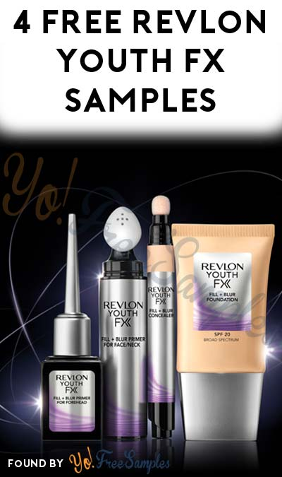 ENDS SOON: 4 FREE Revlon Youth FX Samples From CrowdTap (Mission Required)