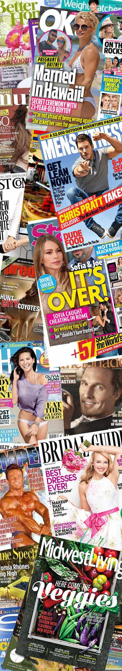 55 FREE Magazines Today [Verified Received By Mail]