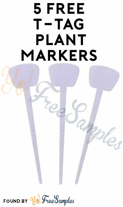 5 FREE T-TAG Plant Markers For Entering Superior Garden Tools Sweepstakes