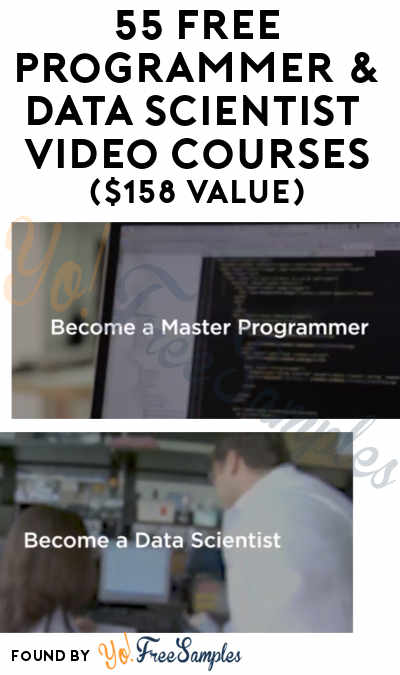 55 FREE Programmer & Data Scientist HD Video Courses From eduCBA & Tanga ($158 Value)