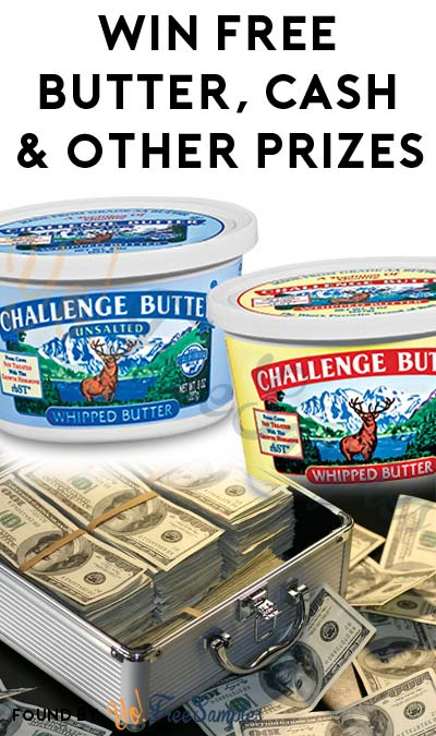 Enter Daily: Win A FREE Challenge Butter Coupon, Watermelon Tap, BBQ Glove, BBQ Toolset or $100,000 Instantly