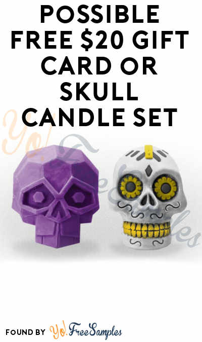 Possible FREE $20 Gift Card or Skull Candle Set For Entering Octopus Skull Towel Giveaway