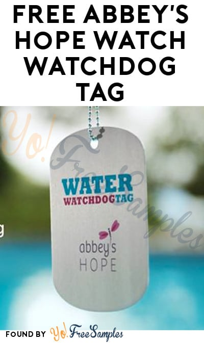 FREE Abbey's Hope Watch Watchdog Tag
