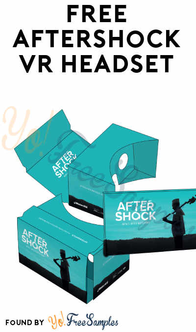 UK ONLY: FREE Aftershock VR Headset
