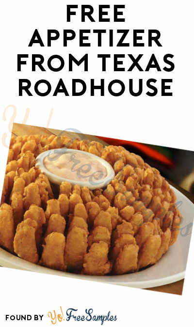 photo relating to Texas Roadhouse Printable Coupons named Totally free Appetizer In opposition to Texas Roadhouse (Words and phrases Demanded) - Yo