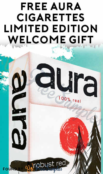 FREE Aura Cigarettes Limited Edition Welcome Gift Box (21+ Only & Select States)