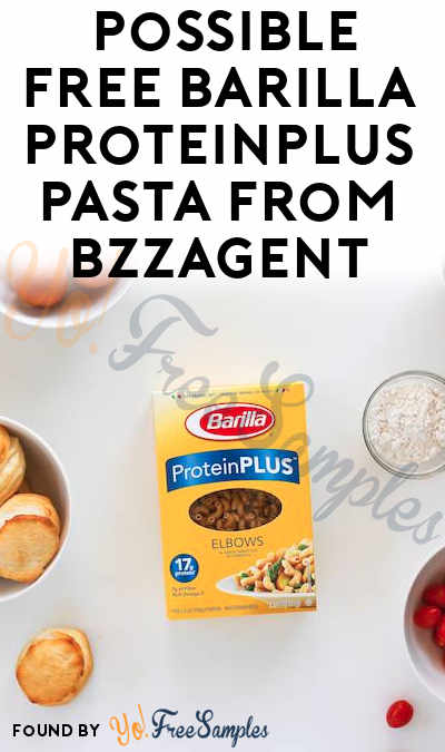 Possible FREE Barilla ProteinPLUS Pasta From BzzAgent