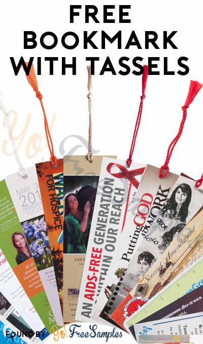 FREE Bookmark, Tassels or Bookmark w/ Tassels Samples
