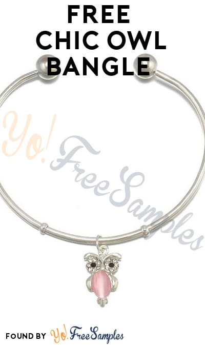 FREE Chic Owl Bangle [Verified Received By Mail]