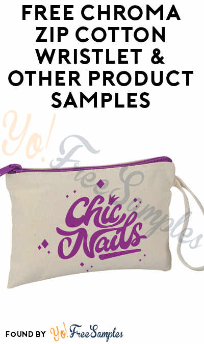 FREE Chroma Zip Cotton Wristlet & Other Promotional Product Samples From 4Imprint (Company Name Required) [Verified Received By Mail]