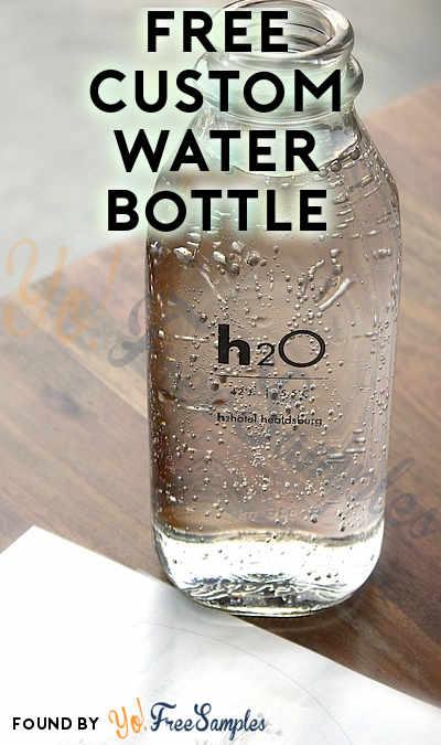 FREE Custom Water Bottle Sample