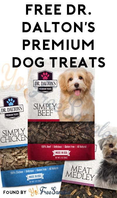 Working Better Now: FREE Dr. Dalton's Premium Dog Treats