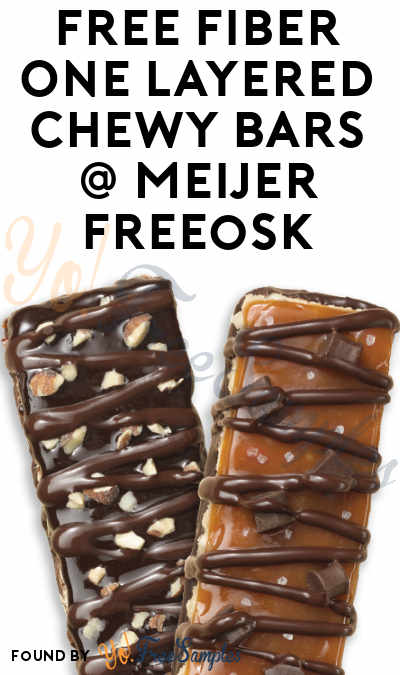 FREE Fiber One Layered Chewy Bars At Meijer Freeosk