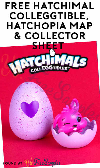 TODAY FREE Hatchimal CollEGGtible Hatchopia Map Collector - Map Of Toys R Us