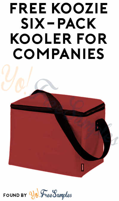 FREE KOOZIE Six-Pack Kooler For Companies