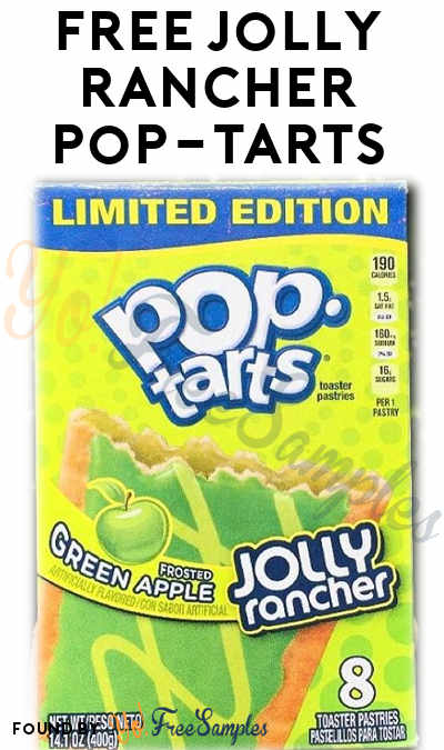 FREE Kelloggs Jolly Rancher Pop-Tarts From Skosay's Simply Sample Program (Cell # Required)
