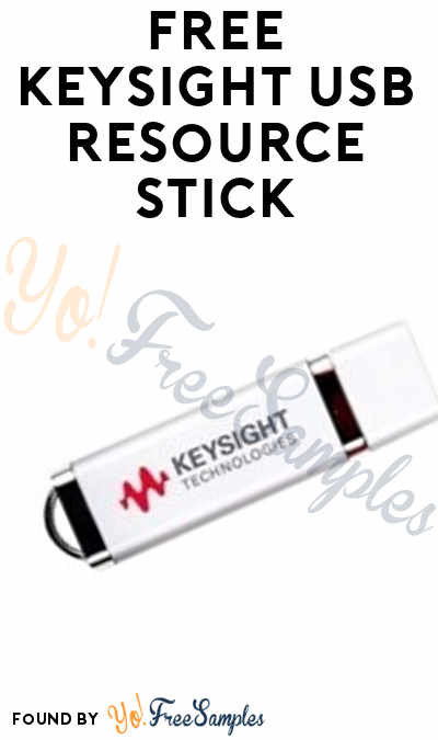 FREE Keysight USB Resource Stick (Company Name Required)