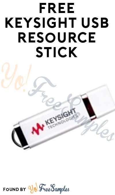 FREE Keysight USB Resource Stick (Company Name Required)