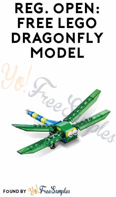 Registration Open: FREE LEGO Dragonfly Model From Mini Model Build Event June 6th & 7th