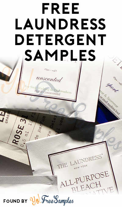 FREE Laundress Signature Detergent, Delicate Wash, Sport Detergent or All-Purpose Bleach Alternative Sample [Verified Received By Mail]